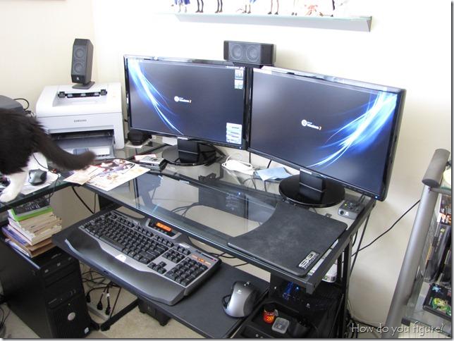 Lots of desktop real space
