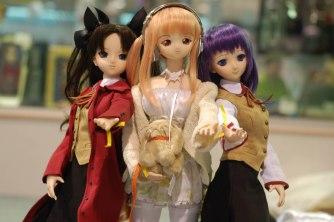 Rin, Manami, and Sakura