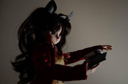 Rin attempts a servant summoning