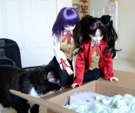 There is a special guest star for this unboxing
